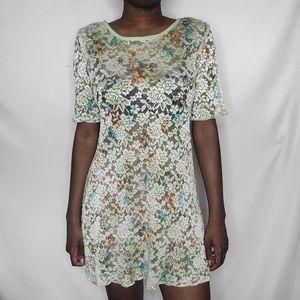 Elizabeth Vintage Floral Print Dress